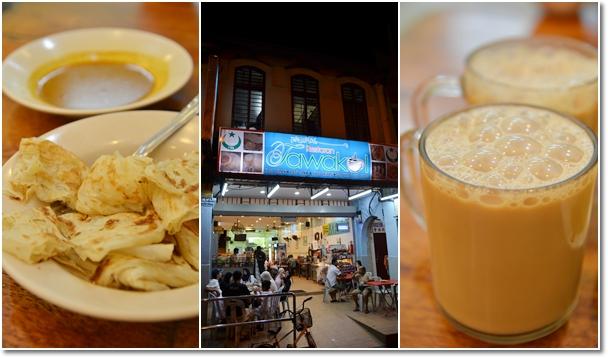 Roti Canai & Teh Tarik @ Tawakal Restaurant, Bentong