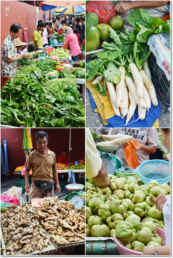 Fresh Produce of Bentong Sunday Market