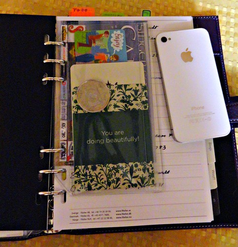 Filofax finchley A5 zip pocket
