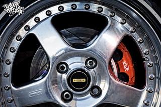RX4 13B J-Port - wheel & brake detail