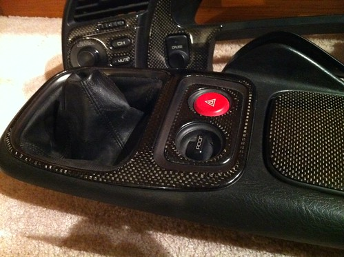Carbon Fiber Ap1 Cf Radio Door Bezel Controls And Center