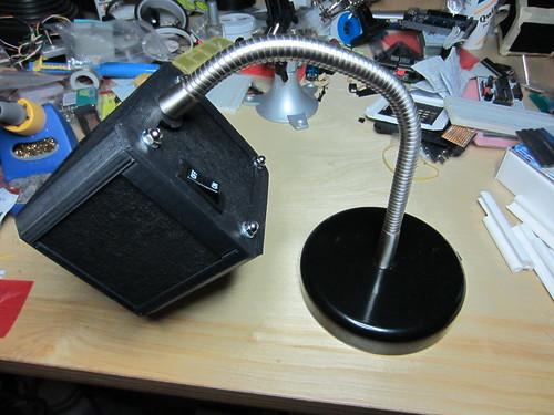 Complete filter fan