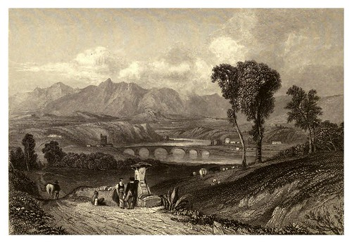 016-El rio Tiber-Finden's illustrations of the life and works of Lord Byron…1833-William y Edward Finden