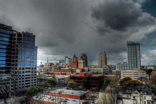 Sacramento's Springtime Storms 2 HDR