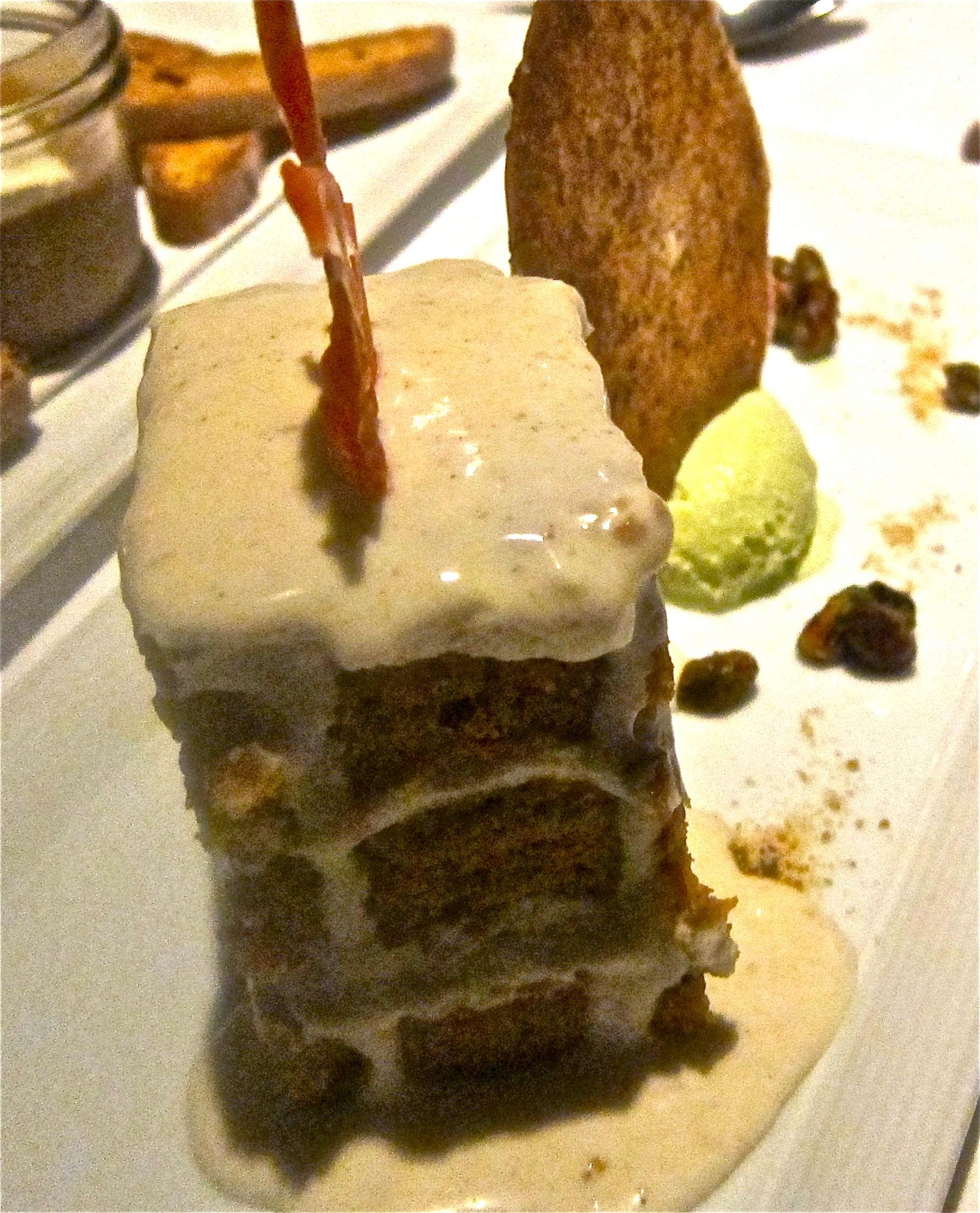 pistachio carrot cake