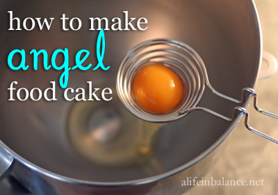 How to Make Angel Food Cake