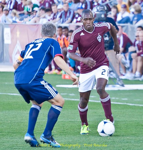 Luis Zapata Colorado Rapids by Corbin Elliott Photography, denver photographer