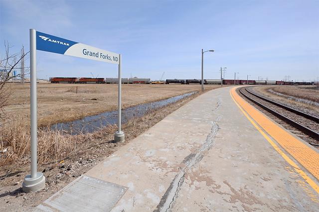 Grand Forks North Dakota Amtrak Flickr Photo Sharing