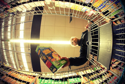 "281/365 - ""fisheye on aisle 4 . . . . """