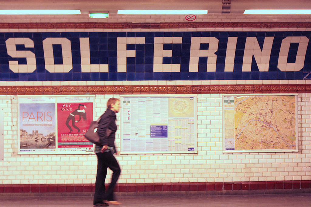 Paris's Solferino Metro station