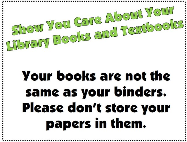 Your Books are Not Binders