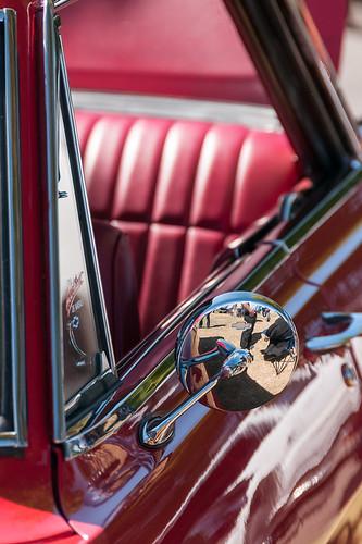 red arizona usa rot chevrolet nova az sidemirror sideviewmirror 1964 sierravista wingmirror veteransmemorialpark seitenspiegel cochisecounty carsinthepark ausenspiegel