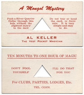 Al Keller, the Vest Pocket Magician