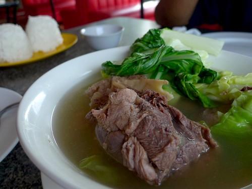 Beef Soup in Vegetables