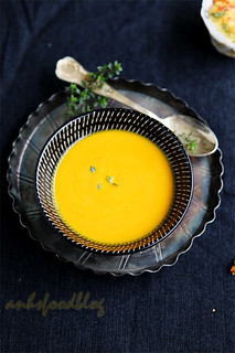 Pumpkin & Carrot Soup for the soul...