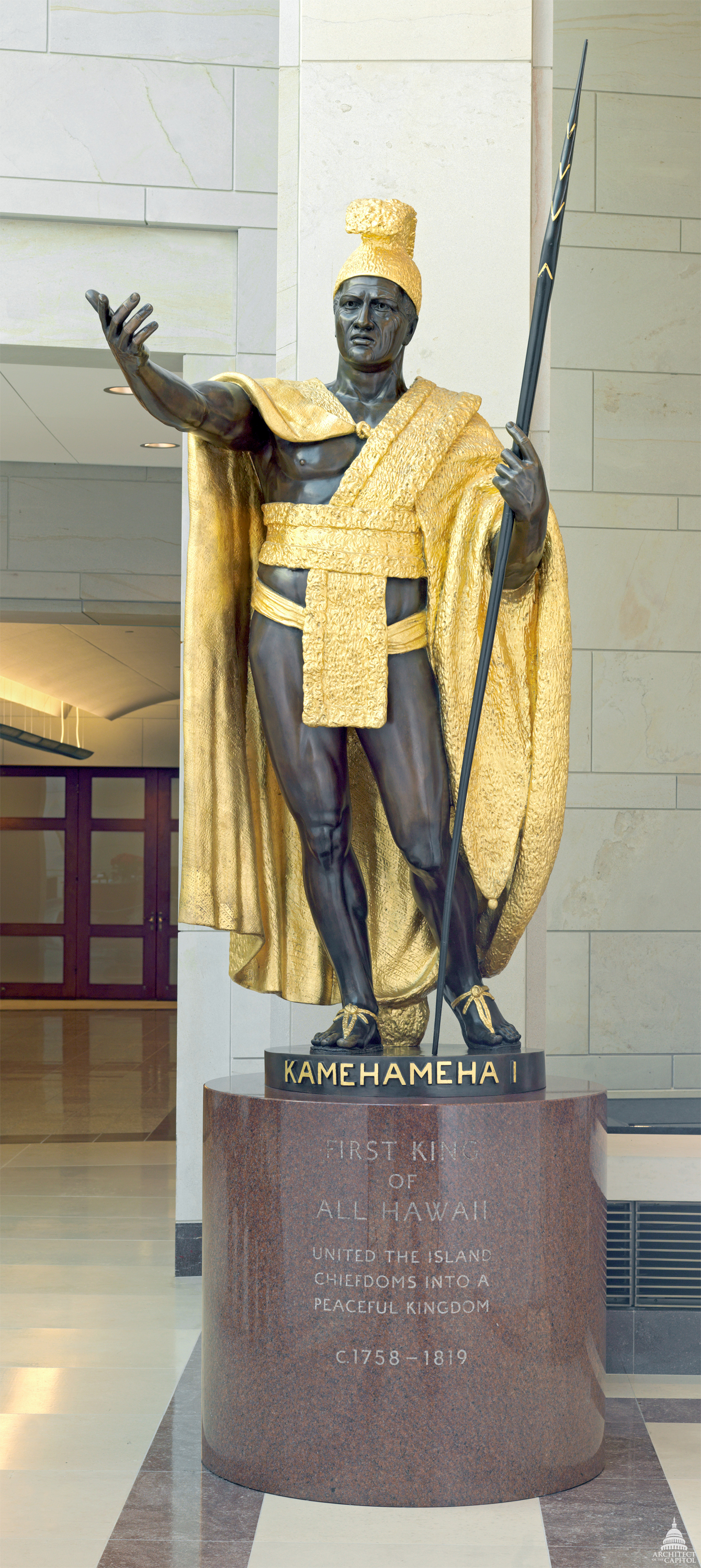 Kamehameha I Architect Of The Capitol