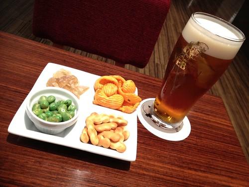恵比寿麦酒記念館のテイスティングラウンジ