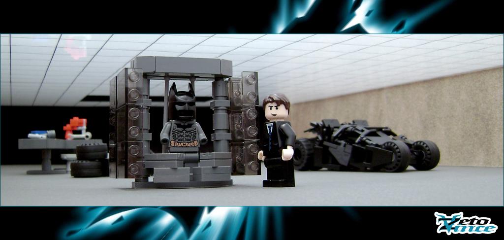 Lego Batman Batcave Instructions