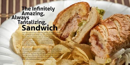 """LE52.41 """"Sandwich"""""""