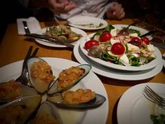 hors d'oeuvre, meal, dinner, lunch, supper, brunch, restaurant, food, dish, cuisine,