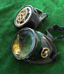 Simple Steampunk Goggles