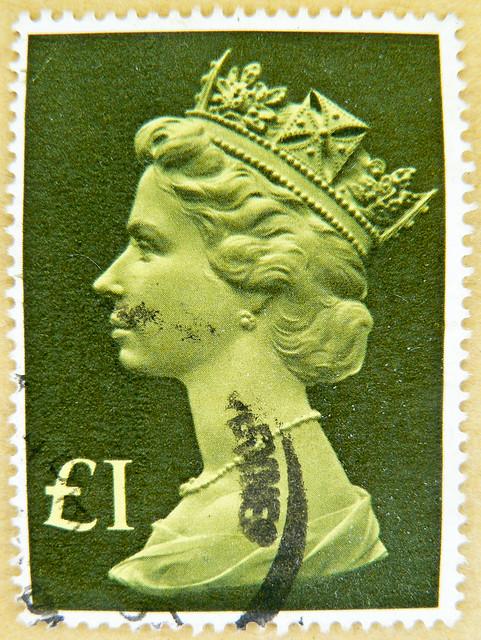 Stamp Gb 163 1 Uk Machin Postage One 1 Pound Great Britain S Flickr Photo Sharing