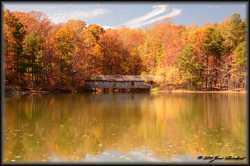 county bridge autumn mountain color reflection green nature water canon huntsville trail madison covered 5d cokin zpro jlphotography digiartpics