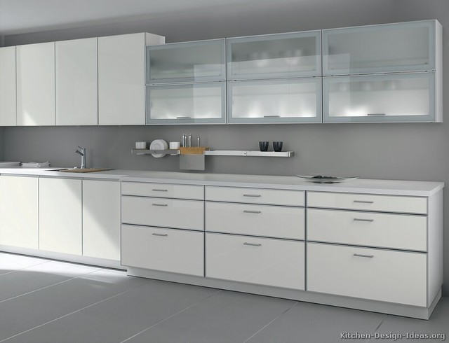 6306655383 c068feaaac for Kitchen cabinets with frosted glass doors