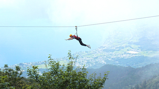 Becoming Superman!! – Zip-lining at Biwako Valley