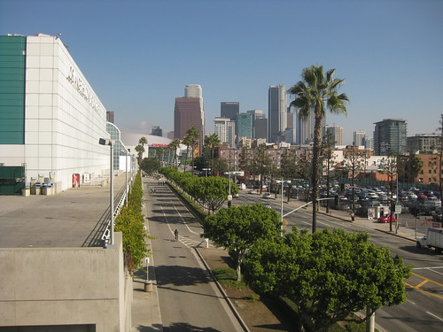 Downtown LA and Convention Center