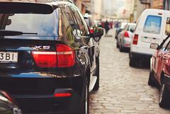 Traffic jams with bokeh