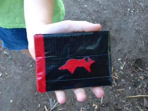 S's duct tape wallet