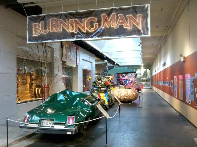 Burning Man Exhibit
