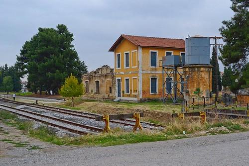 Σιδηροδρομικός σταθμός Καλαμπάκα - Train Station Kalambaka