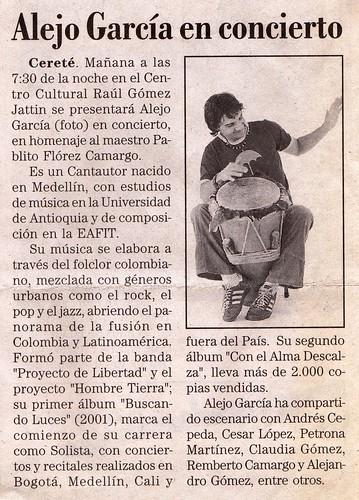 Periódico El Meridiano de Sucre Mayo 2007