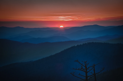 Clingman Pink and Blue (Explore Front Page #9)