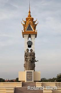 Phnom Penh - Cambodia-Vietnam Friendship Monument