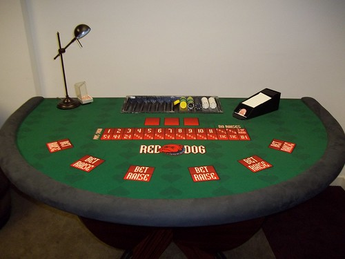 Red Dog Poker Game