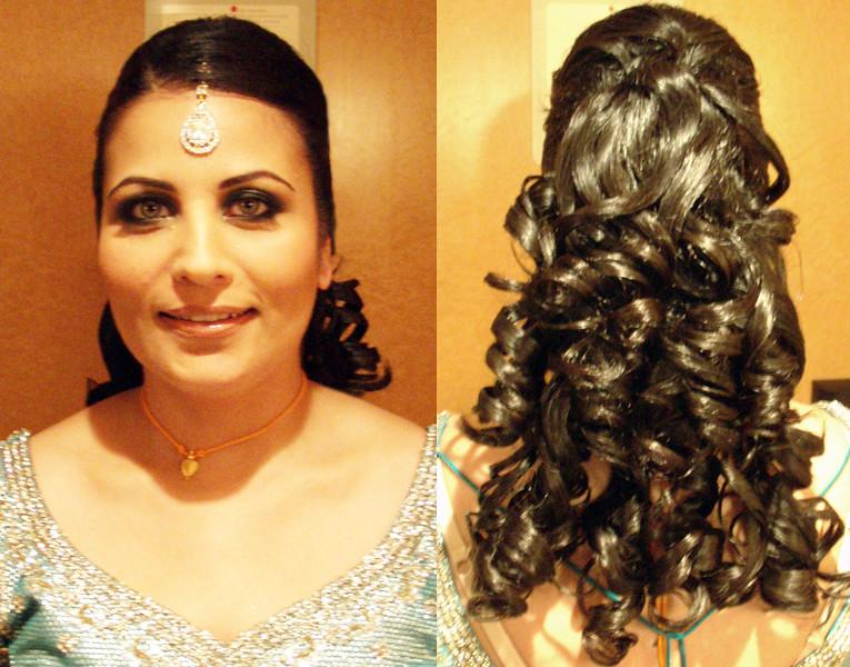 Indian Bridal Hairstyle Half Updo Victoria Flickr