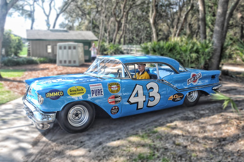 Richard Petty's 1957 Olds at Amelia Island 2010