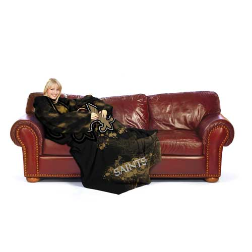 New Orleans Saints Huddler Blanket