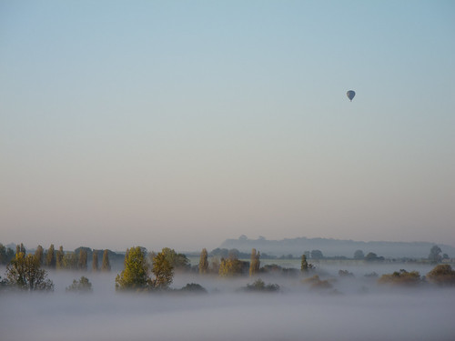Early morning balloon ride