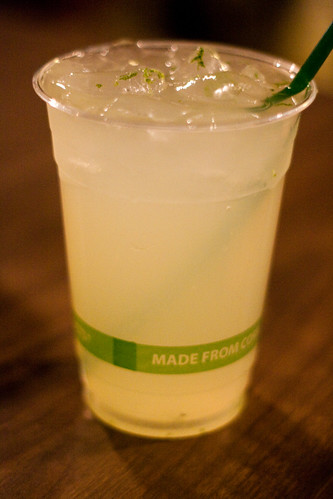Honeydew Agua Fresca at Smoke BBQ Tacqueria