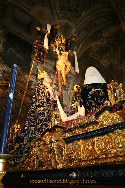 Hermandad de la Quinta Angustia de Sevilla, Jueves Santo 2011 4