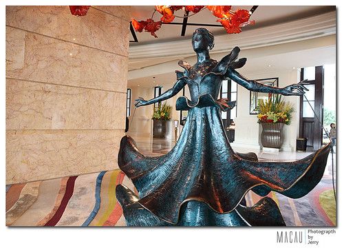 MGM 米高梅酒店?的銅雕