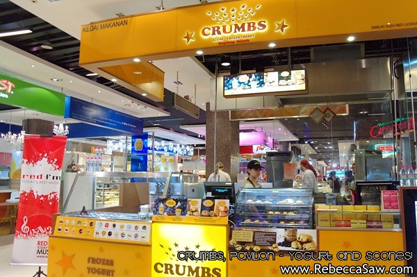 Crumbs Pavilion - yogurt and scones-6