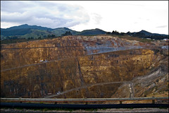 Martha golden mine in Waihi