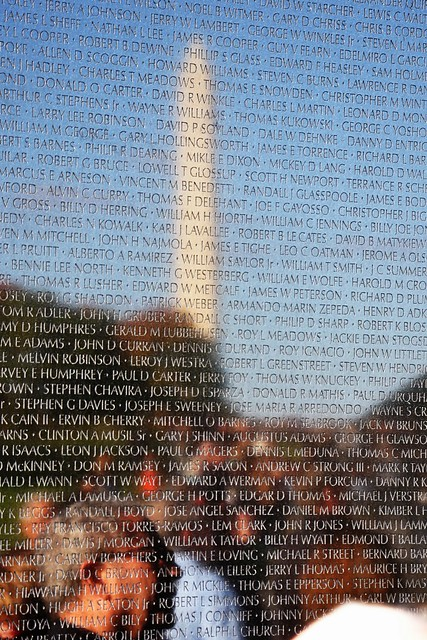 Vietnam Veterans Memorial Wall - Reflection