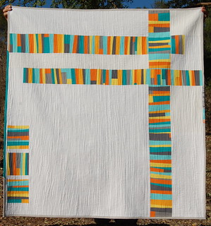"""Fact or Fiction"" quilt- turned-oops!!!"