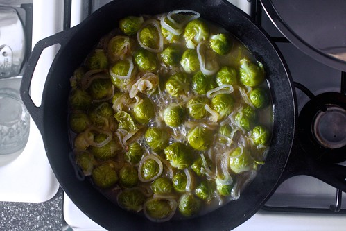 braised sprouts